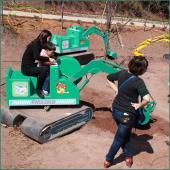 子供たちの掘削機 FLAE